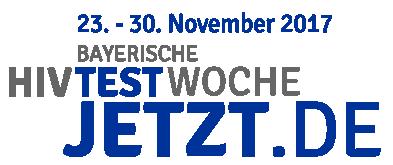 Test Jetzt - das Logo zur Bayerischen HIV-Testwoche